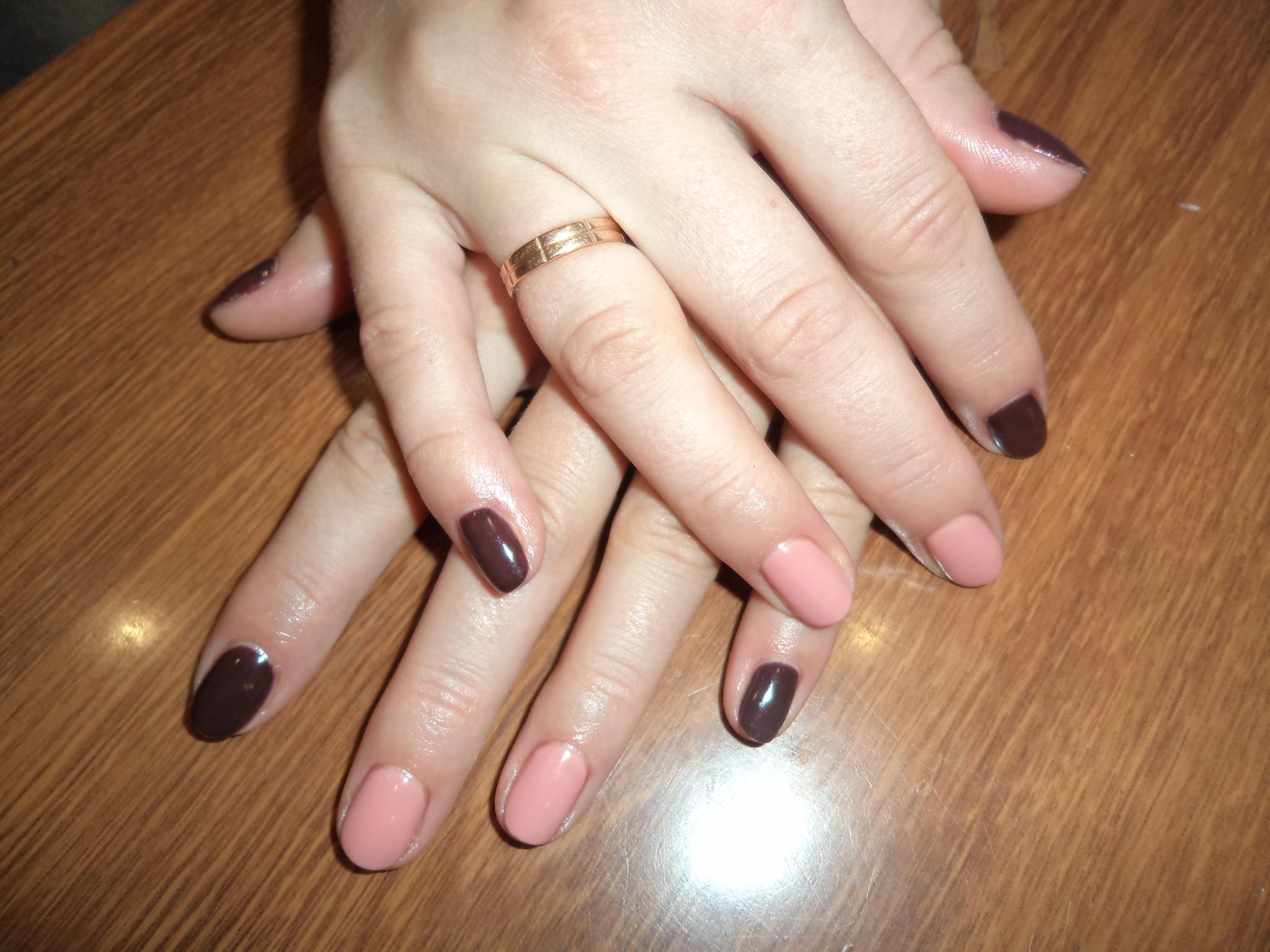 Ногти био гель лак фото