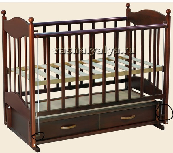 Спасайте нужна схема сборки кроватки детской.