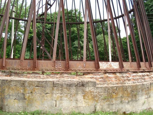 Разрушение основания башни вПолибино