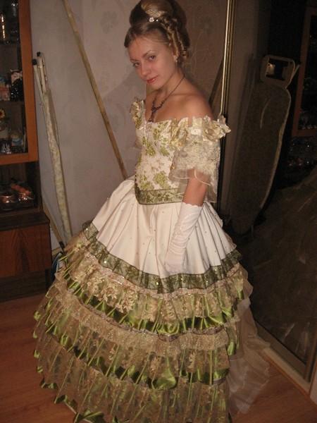 Платье Для Пушкинского Бала Купить