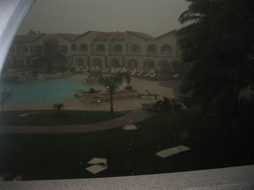 Ураган начался