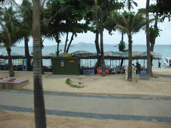 Центральная Паттайя. Пляж.