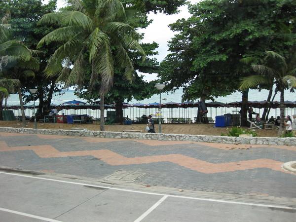 Паттайя. Пляж Джомтьен