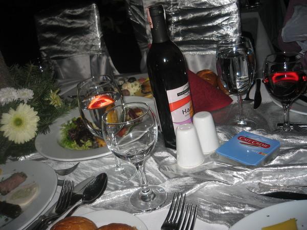 Новогодний стол в отеле Orange County 5*