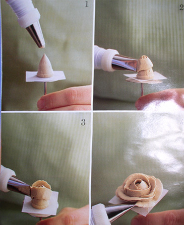 Украшение торта пошагово фото