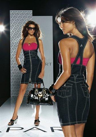 Фото модных джинсовых юбок