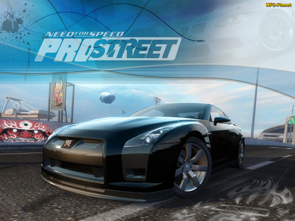Need for Speed ProStreet на XBOX360.