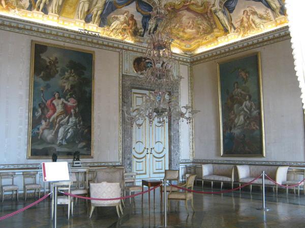 sala delle dame di Compagnia - дамская комната