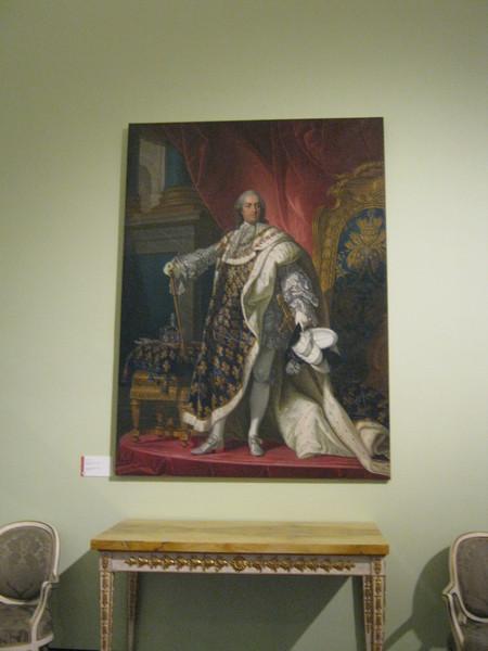 Luigi XV Burbon Francia - Людовик XV Бурбон Франции