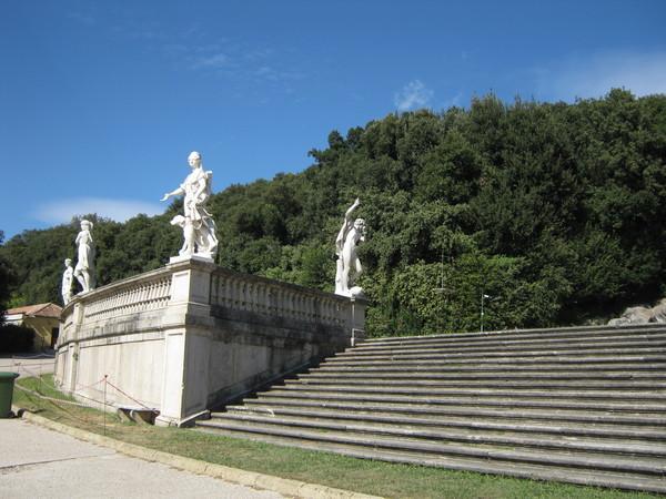 последние ступени к последнему фонтану
