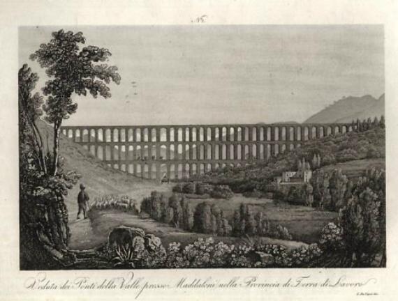 акведук, построенный Ванвителли в местечке Маддалони