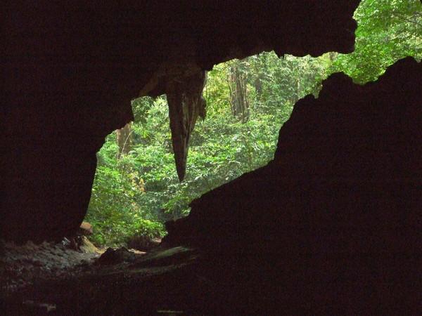 Чео Лан. Вид из пещеры.