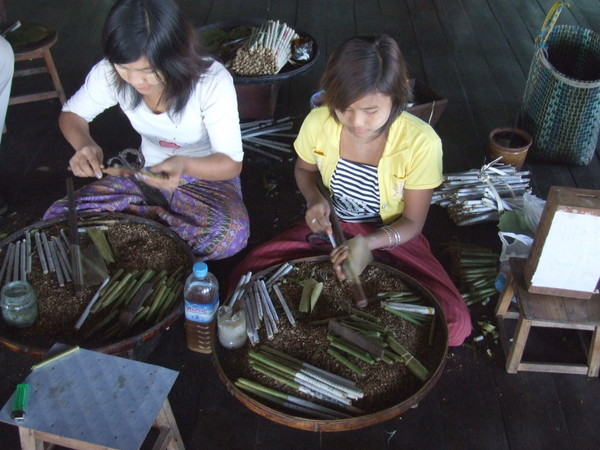 Бирманские махорочные сигариллы
