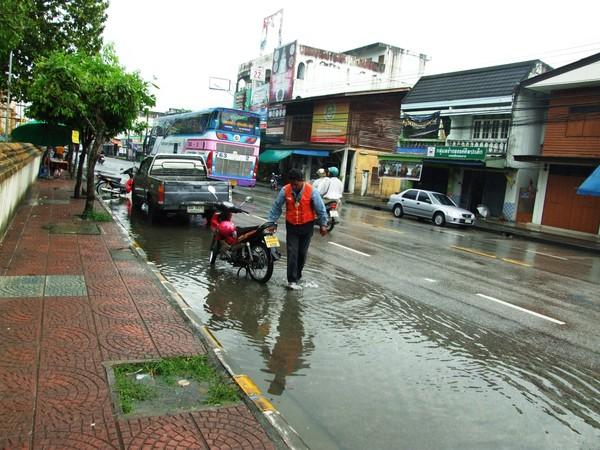 после дождя в Након Си Тамарате