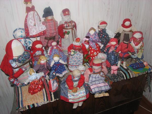 Крестьянские куклы