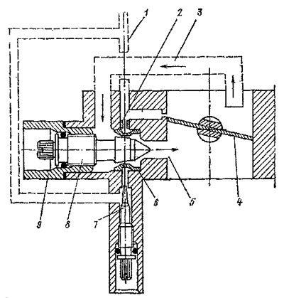 Схема питания карбюратора ваз-2107.