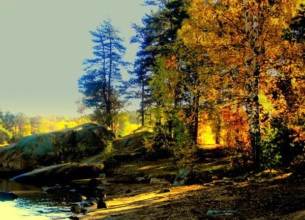 Осенние  пейзажи - Страница 2 I-1796