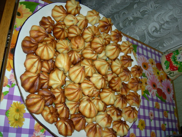 Заварные печенье рецепт в домашних условиях