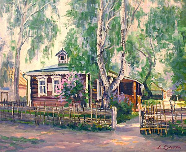 Деревенские пейзажи валерия бусыгина