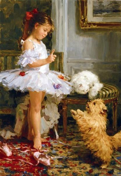 Фото  Маленькая балерина