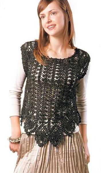 Вязание крючком, Одежда для женщин