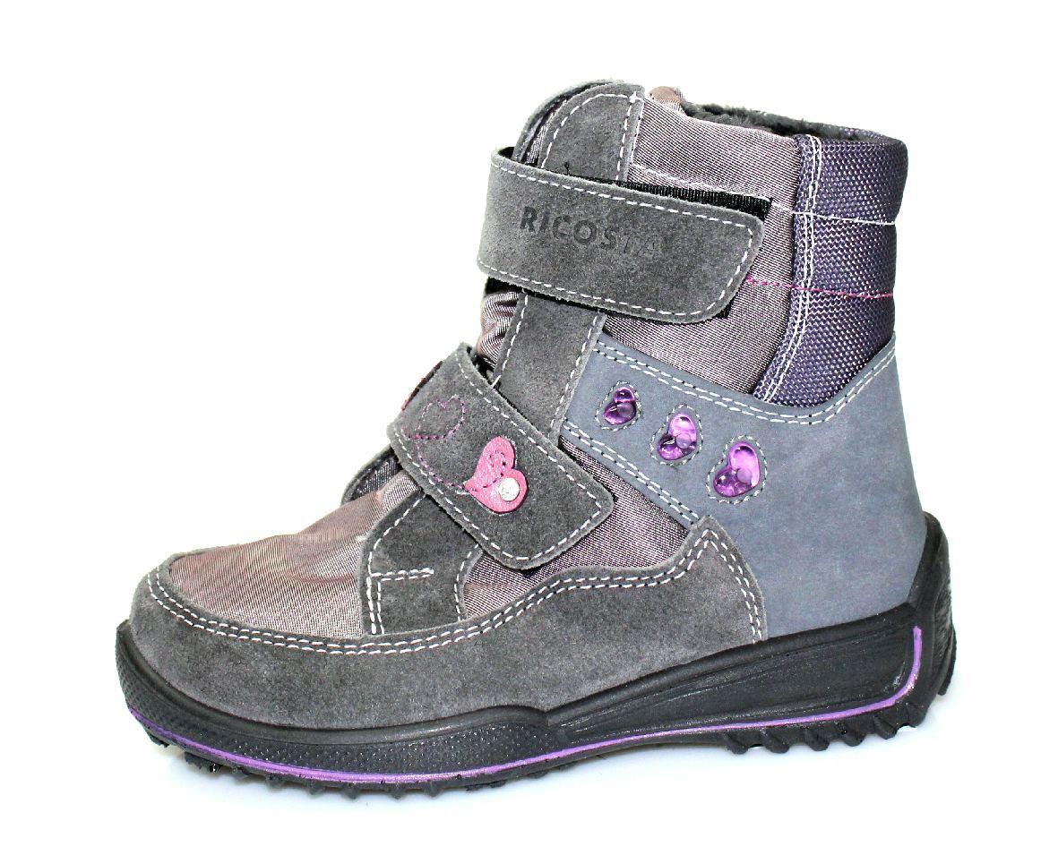Обувь детская Ricosta. . Убрать из сравнения. . Материал верха - замша в.