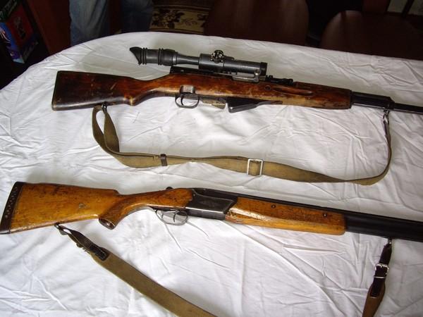 Продаю два ружья Тоз-34ЕР и карабин ОП-СКС с прицелом - 4.