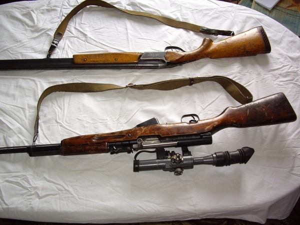 Продаю два ружья Тоз-34ЕР и карабин ОП-СКС с прицелом - 5.
