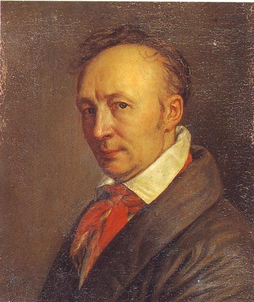 Автопортрет в пожилом возрасте, 1830-1835 ГРМ