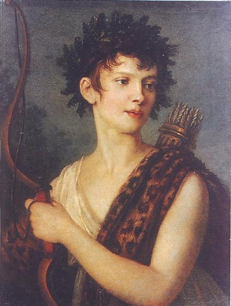 Портрет Е.И. Колосовой, Начало 1800-х
