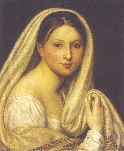 Портрет М.И.Варнек, 1816, ГРМ