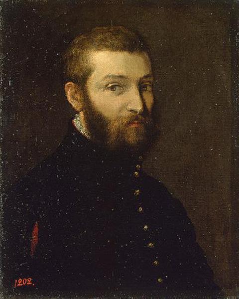 Паоло Веронезе, Автопортрет 1558-63