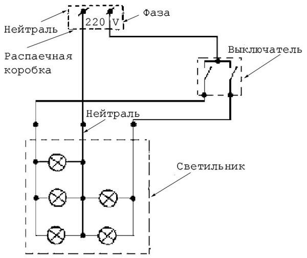 электрическая схема уаз