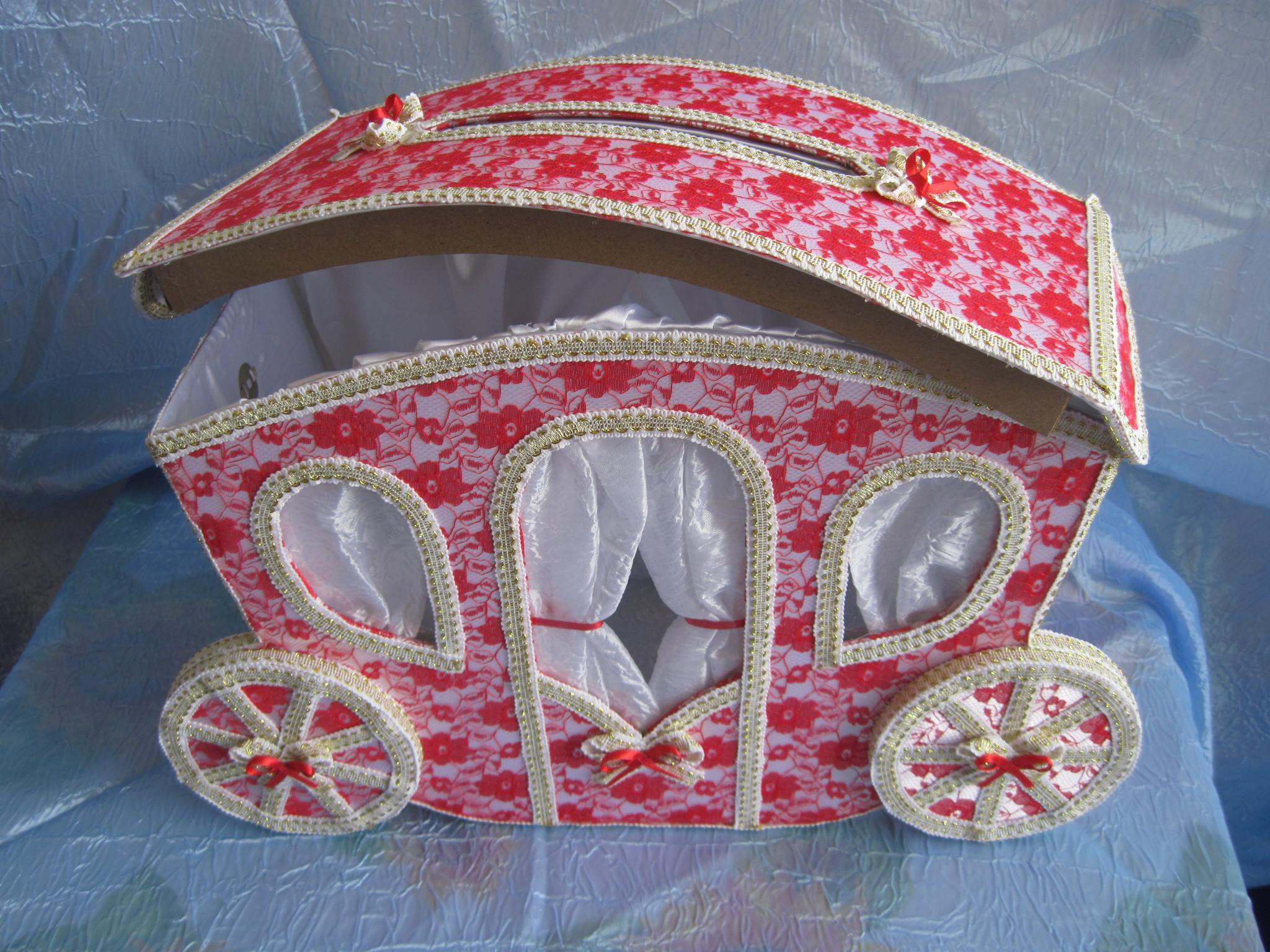 Коробочки из картона на свадьбу