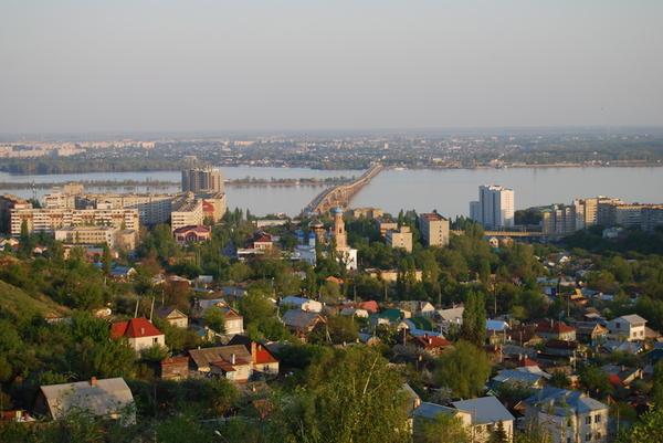 г. Саратов. Панорама