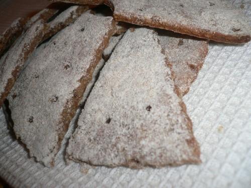 Хрустящие ржаные хлебцы а-ля Финн Крисп