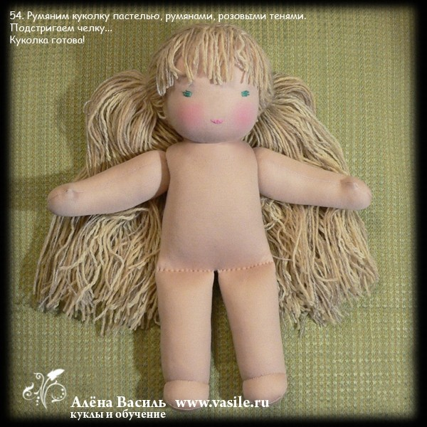 gift presents for kids: waldorf dolls tutorial