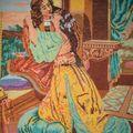 Вышивка.Такую шила моя прабабушка.  Категории.  Картина.  Ромео и Джульетта.
