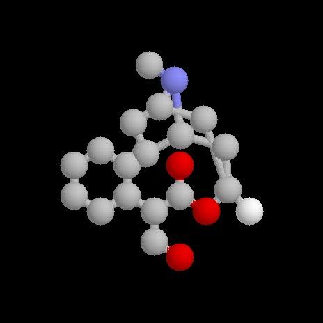 молекула атропина