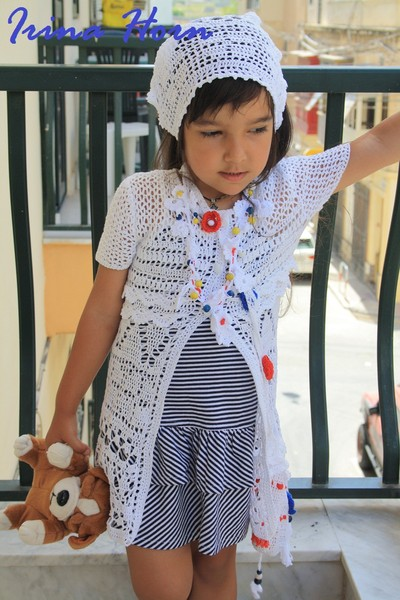 Вязание на спицах с описанием для девочек школьниц