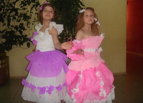Как сделать платье из подручных материалов фото 617