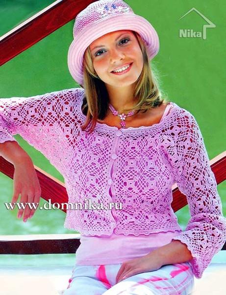 Модели вязанных женских изделий