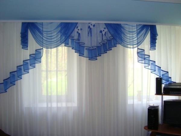 Ламбрекен шторы своими руками фото