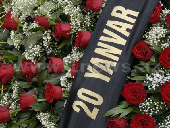20 января в азербайджане траур в связи