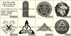 Скачать кисти фотошоп Языческие символы