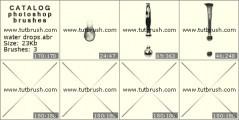 Download кисти фотошоп Водные капли