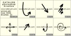 Download кисти фотошоп Стрелки