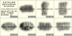 Скачать кисти для фотошоп Культура Египта