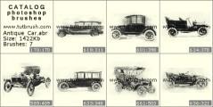 Скачать кисти фотошоп Старинные автомобили
