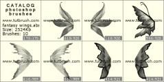 Download кисти фотошоп фантастические крылья